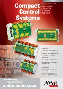 Compact Control Systems - leaflet