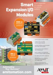 Smart Expansion I/O Modules - leaflet