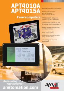 Panel Computers - leaflet