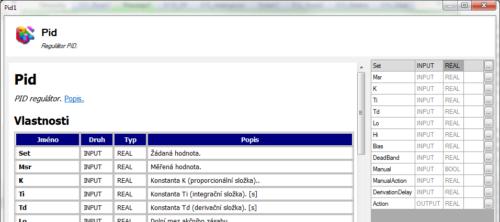 DetStudio 2.0, parametrizační okno