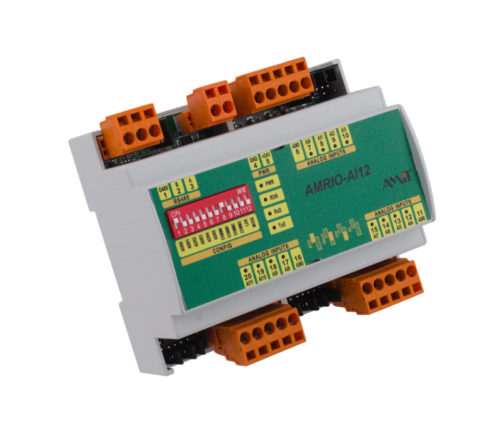 Programmable I/O module - AMRIO-AI12