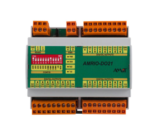 Programmable I/O module - AMRIO-DO21