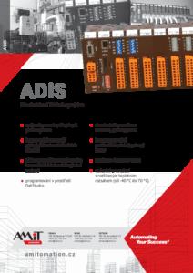 15 - Modulární řídicí systém - produktový list