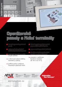 20 - Operátorské panely - produktový list