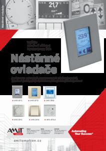 45 -  Nástěnné ovladače - produktový list
