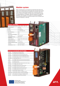 15 - Modular control system -leaflet