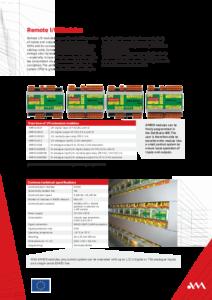 30 - Remote i/o modules - leaflet