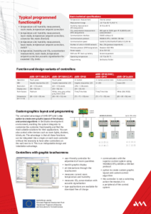 45 - On-wall controllers - leaflet