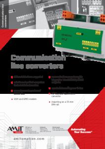 60 - Communication line converters - leaflet